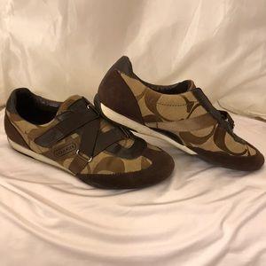 Kayra Coach Velcro Shoes